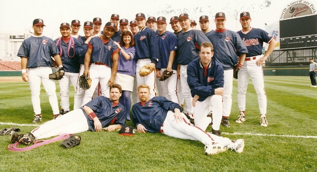 Little Me with THE Buffalo Bisons, AA champs of 1997.jpg