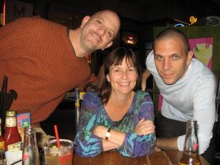 Little Me, Jonathan and Jason at La Salsa Cantina.jpg